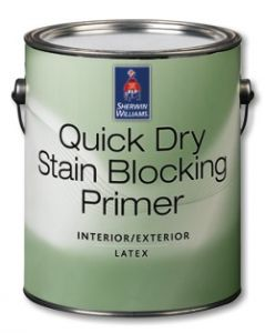 Quick Dry Stain Blocking Primer Int/Ext,Primer,Американские краски,Sherwin-Williams.