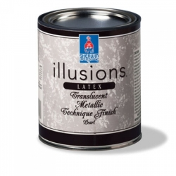 Sherwin Williams (Шервин Вильямс) Illusions Translucent Metallic,  золото