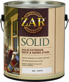 ZAR Solid Color Deck & Siding Exterior Stain